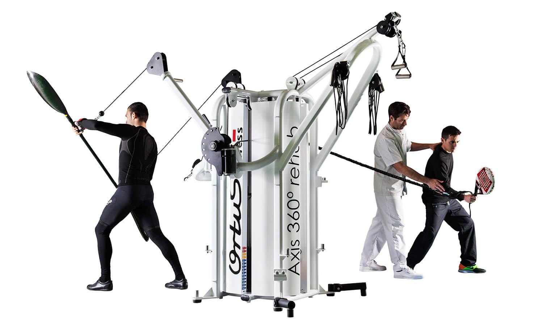 Máquina para fisioterapia y rehabilitación